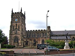 St Mary and All Saints' Church, Kidderminster - Image: St. Mary and All Saints Parish Church geograph.org.uk 1346350