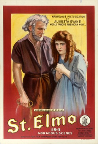St. Elmo (1914 film) - Theatrical release poster