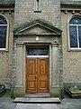 St James Roman Catholic Church, Orrell, Doorway - geograph.org.uk - 574440.jpg