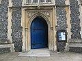 St Mary's church, Wimbledon, entrance - geograph.org.uk - 1941162.jpg