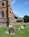 St Mary's church - churchyard - geograph.org.uk - 1337054.jpg