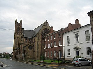 St Marys Church, Warrington Church in Cheshire, England
