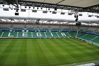 Polish Army Stadium - Image: Stadion Legii 06