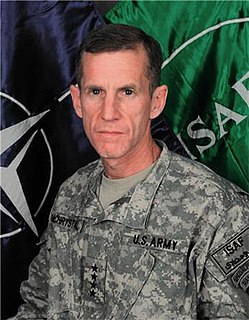 Stanley A. McChrystal US Army general