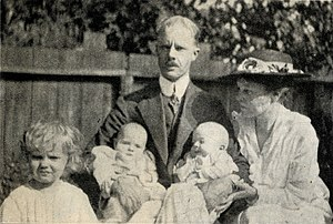 Stanley R. Avery - Avery in 1918 with his family