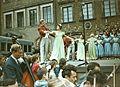 Starówka 1960 – Warszawa, Rynek Starego Miasta – Polonez w wykonaniu baletu 01.jpg