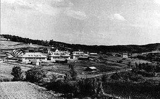 Ugljevik - Ugljevik, miners settlement – Kolonija, in 1931