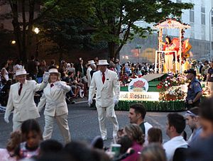 During the 2010 Starlight Parade of the annual...
