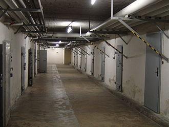 Basement - A former Stasi basement hallway