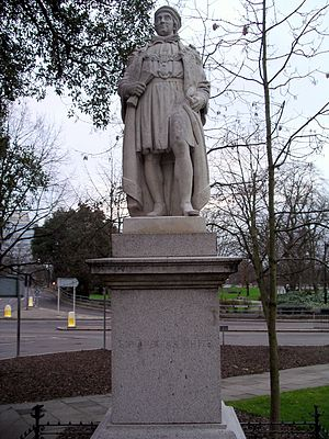 Thomas White (merchant) - Statue of Sir Thomas White in Coventry, West Midlands