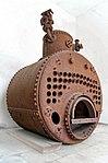 Steam boiler of the tugboat Vridni (1894); Split, 2013-04-10.jpg