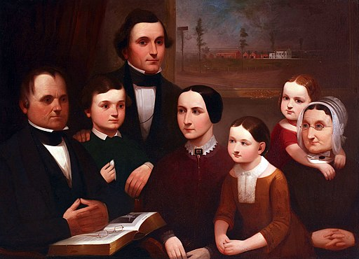 Steele Family Portrait by Henry Sanderson