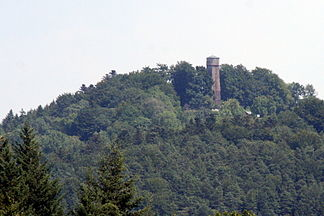 Steinknickle with observation tower