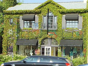 Stella McCartney - Stella McCartney's store in West Hollywood