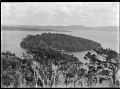 Stewart Island. View of Iona Island within Paterson Inlet. ATLIB 273987.png