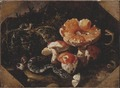 Still Life with Serpents, Fly Agarics and Thistles (Paolo Porpora) - Nationalmuseum - 22322.tif