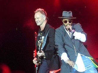 Shaggy (musician) - Sting and Shaggy on tour