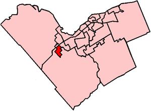 Stittsville Ward - Image: Stittsville Kanata West