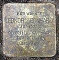 Stolperstein Alte Allee 17 (Westend) Leonor Leonhard.jpg