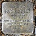 Stolperstein Emser Str 39d (Wilmd) Martha Pinner.jpg