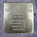 Stolperstein Eschersheimer Landstraße 10 Margarete Cahn.jpg
