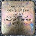 Stolperstein Kleve Bahnhofstraße 21 Helene Wolff.jpg