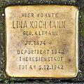 Stolperstein Lina Kochmann, Ehrenstraße 19, Köln-9491.jpg