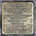 Stolperstein Ludwigkirchplatz 12 (Wilmd) Leonhard Holz.jpg