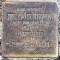 Stolperstein Savignyplatz 6 (Charl) Bella Slutzkin.jpg