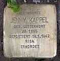 Stolperstein Westfälische Str 62 (Halsee) Jenny Kappel.jpg