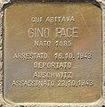 Stolperstein für Gino Pace (Rom).jpg