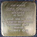 Stolpersteine Krefeld, Rosa Spanier (Hohenzollernstraße 46).jpg
