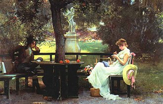 Marcus Stone - In Love, 1888