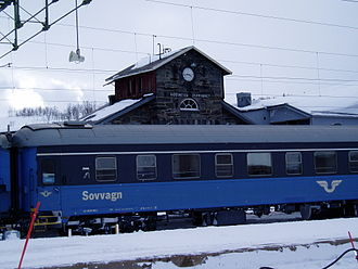 Storlien - Storlien Station, in the centre of the village and the highest station in Sweden
