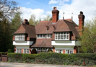 1865 in architecture - Image: Stowford Cottage, nr Crewe