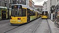 Straßenbahn Berlin M4 1502 Hackescher Markt 1912091446.jpg