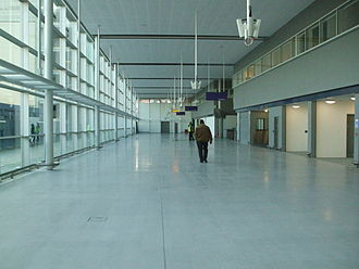 Stratford International station - High Speed 1 station concourse