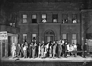 Elmer Rice - Original Broadway production of Street Scene (1929)