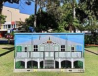 Street art at electrcal cabinet in Sandgate, Queensland, 2020.jpg
