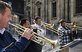Street wind quartet, with trumpet and trombones. Dresden - 1396.jpg