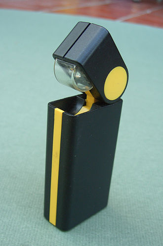 Duracell - A Duracell flashlight from the 1980s
