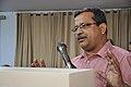 Subhabrata Chaudhuri Speaks - Ganga Singh Rautela Retirement Function - NCSM - Kolkata 2016-02-29 1405.JPG