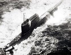 Soviet submarine K-33