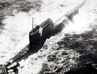 Hotel-class submarine - Image: Submarine Hotel II class