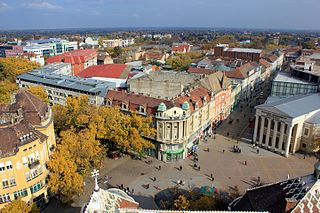 Subotica City in the province of Vojvodina, Serbia