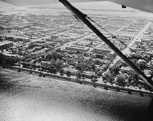 Timeline of Khartoum - Aerial view of Khartoum, 1936