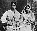 Sukumar Ray and his wife.jpg