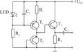 Sumovy generator se zaverne polarizovanym emitorovym prechodem bipolarniho tranzistoru.png