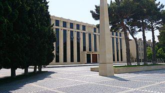 Sumqayit - City Hall of Sumqayit.