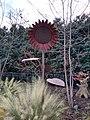 Sunflower art piece in the Memphis Botanic Garden.jpg
